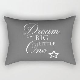 Dream Big Little One Children's Quote Rectangular Pillow
