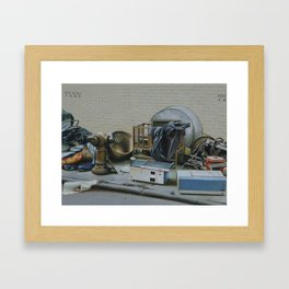 Pile And Pile 2 Framed Art Print