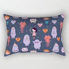 funny monsters Rectangular Pillow