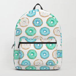 Blue Donuts Backpack