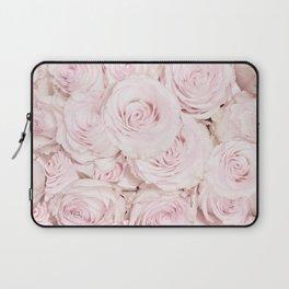 Roses have thorns - Floral Flower Pink Rose Flowers Laptop Sleeve