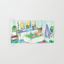 Witchy Relax Hand & Bath Towel