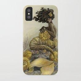 Sea Snail Mermaid iPhone Case
