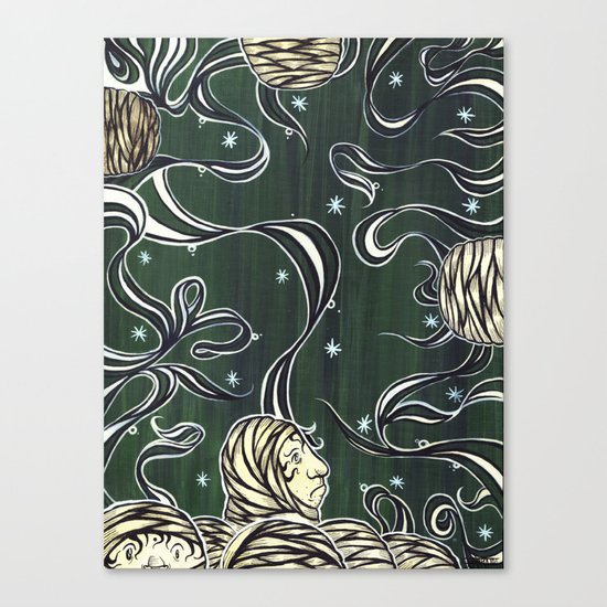 I & I Canvas Print