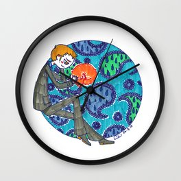 Ivanhoe and Paisley Wall Clock