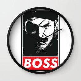 Big Boss - Metal Gear Solid Wall Clock