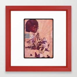 Afro American  Framed Art Print