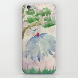 Dancing in the Breeze iPhone Skin