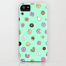 Donut You Want Some iPhone Case