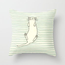 Kitty Soft Throw Pillow
