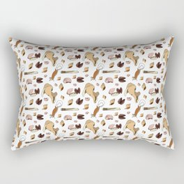 Along the Drift Line Rectangular Pillow