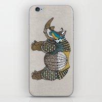 rhino iPhone & iPod Skins featuring Rhino by farah allegue