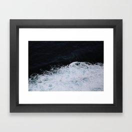 Paint like the Ocean Framed Art Print