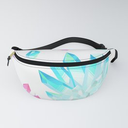 Crystals Illustration Fanny Pack
