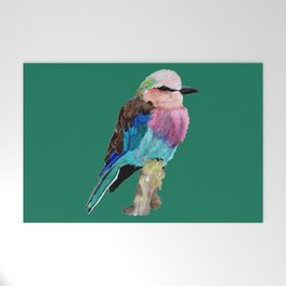 Lilac Breasted Roller Bird Welcome Mat