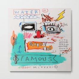 Basquiat Famous Metal Print