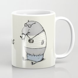 Hipsterpotamus Coffee Mug