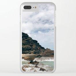 Hālona Clear iPhone Case