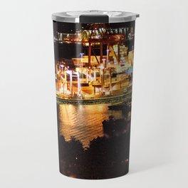 Las luces de Vancouver Travel Mug