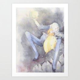 Father Moon Art Print