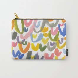 Abstract Letterforms 1 Carry-All Pouch