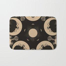 Ouija Wheel of the Moon - Beyond the Veil Bath Mat