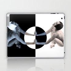 ORANGE MIRRORED NUDE Laptop & iPad Skin