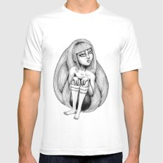 Raspunzel Mens Fitted Tee SMALL White