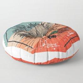 Racoon Cute Floor Pillow