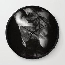 FEMALE NUDE - analog Duplex Wall Clock