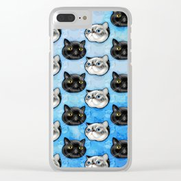 Walter and O'Malley Clear iPhone Case