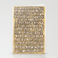 teeth Stationery Cards featuring Teeth by Jason Covert