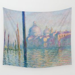 Claude Monet - Le Grand Canal Wall Tapestry