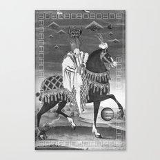 ASS royale Canvas Print