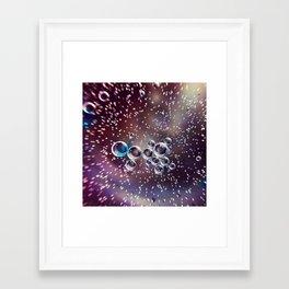 Frozen in time  Framed Art Print