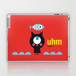 Uhm...Cat Laptop & iPad Skin
