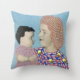 Telepathic Understanding Throw Pillow