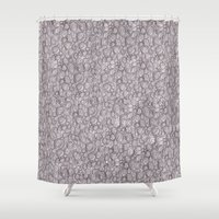 abyss Shower Curtains featuring Abyss by Bearskin