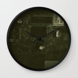 The City of Circuitry 5.0 Wall Clock