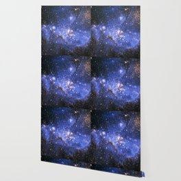 Blue Embrionic Stars Wallpaper