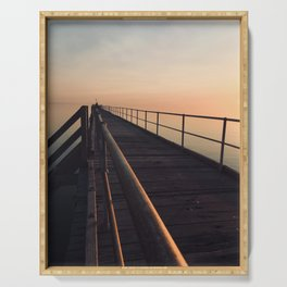 The Port Germein jetty is the longest in South Australia and, reputedly, the longest in the southern Serving Tray