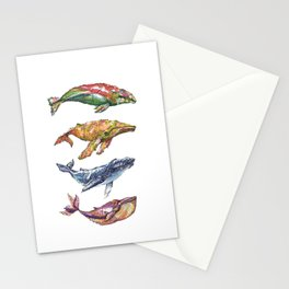 The Whales Stationery Cards