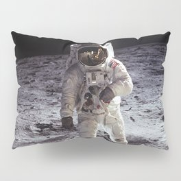 Apollo 11 - Iconic Buzz Aldrin On The Moon Pillow Sham
