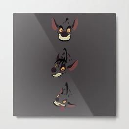 Evil Hyenas Metal Print