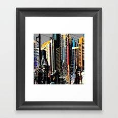Vegas Baby Framed Art Print
