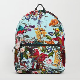 Floral and Birds XXXIV Backpack