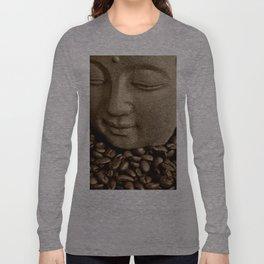 buddha coffee 2 Long Sleeve T-shirt