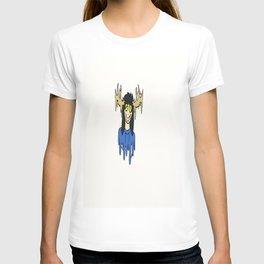 blue the deer girl T-shirt