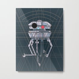 Imperial Probe Deco Droid Metal Print
