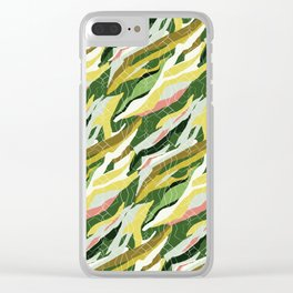 Gorgeous  Green Military Clear iPhone Case